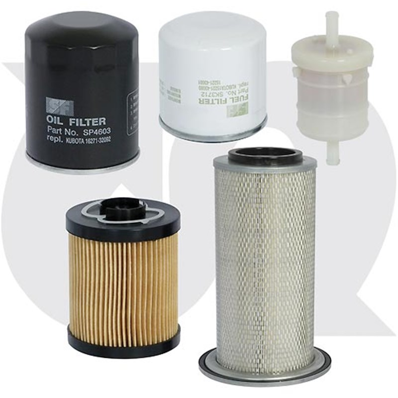 Filter Pack - to fit TIMBERWOLF - TW150, TW190 & TW230 (non-turbo)
