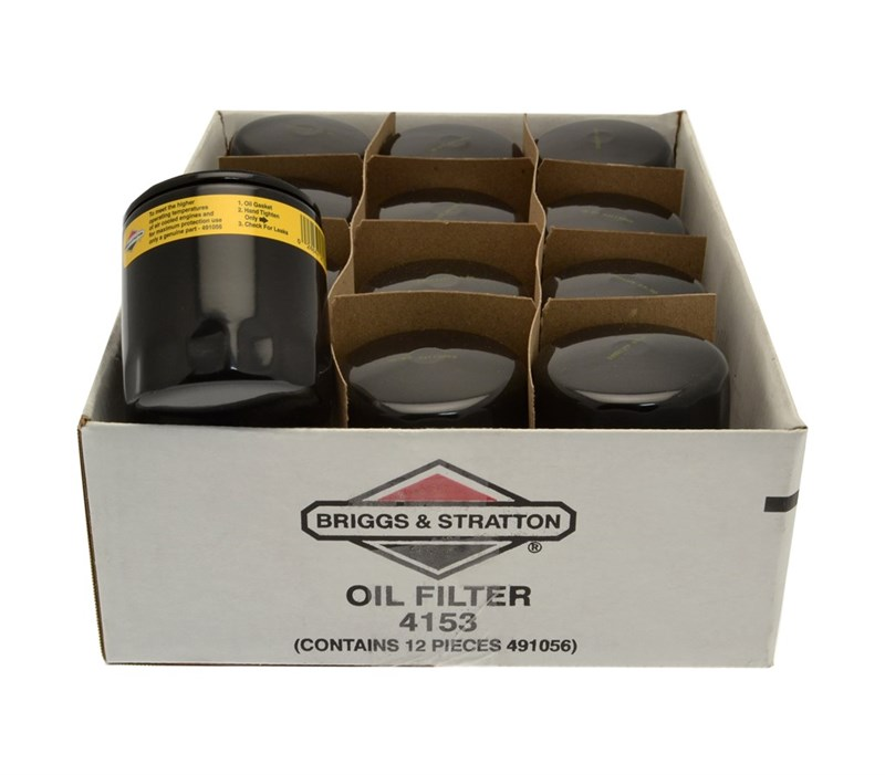 Briggs & Stratton Oil Filter Pk12, 4153